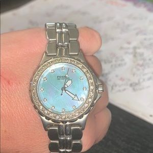 Used Fossil Watch! Stainless Steel!